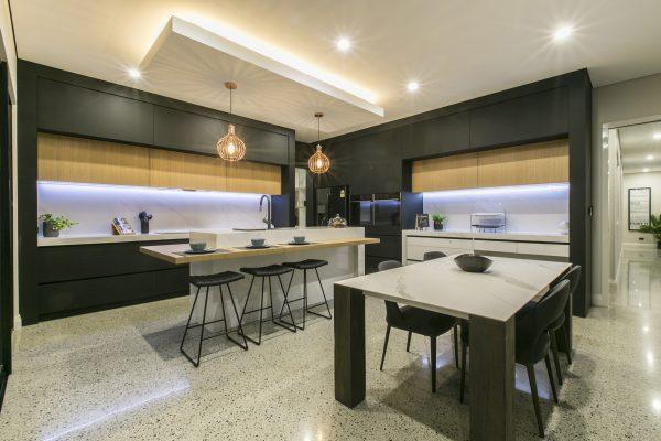 Limecrete - Polished Concrete Kitchen